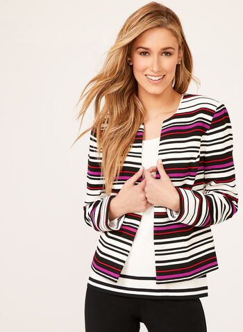 Ottoman Striped Jacket, Multi, hi-res