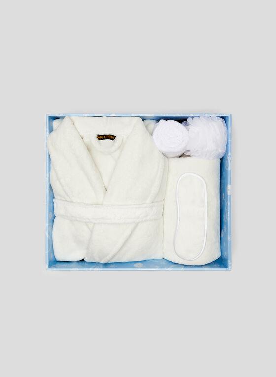 Sandra & Tiffany - Ensemble de bain avec peignoir, Blanc, hi-res