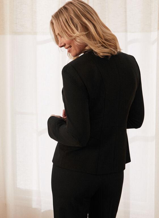 Louben - Veste tailleur à un bouton , Noir