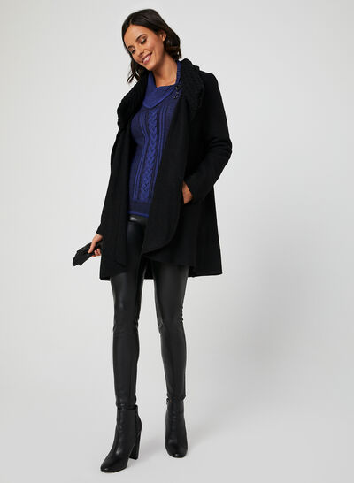 Asymmetric Neck Sweater