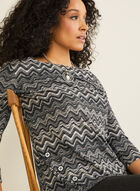 Missoni Stripe Print Top, Black