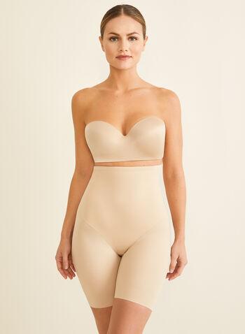 Naomi & Nicole - High-Waist Shaping Briefs, Off White,  shapewear, briefs, high-waist, sculpting, back magic, wonderful edge