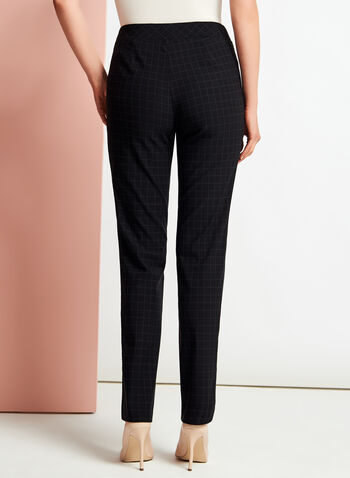 Pantalon pull-on coupe moderne , Noir, hi-res
