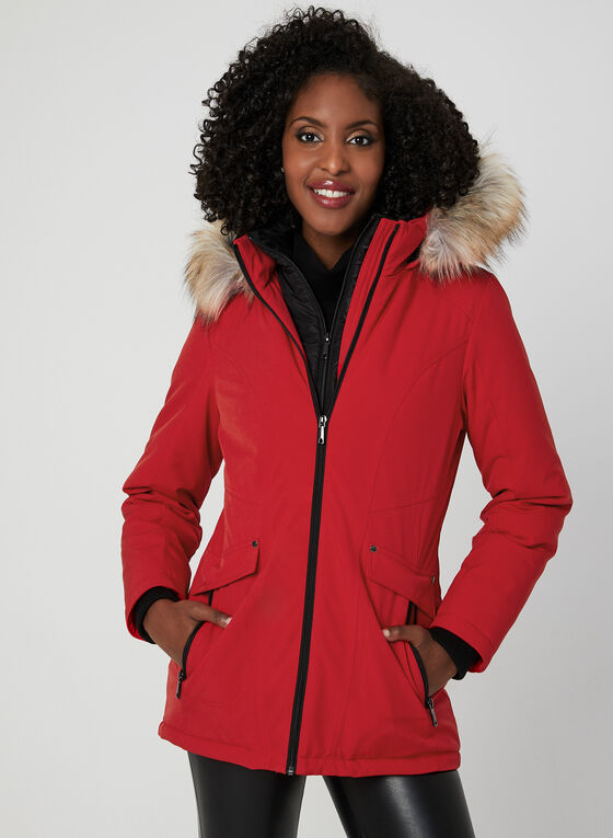Chillax - Manteau compressible Artic-Loft® , Rouge, hi-res