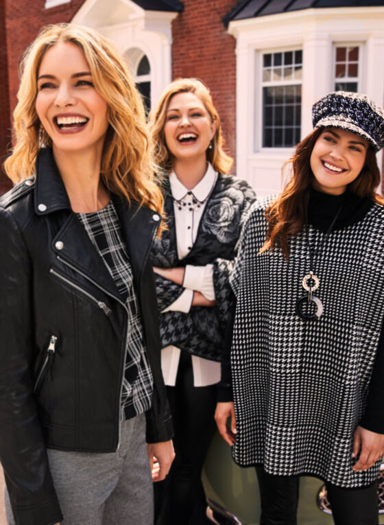 Chic in Houndstooth,