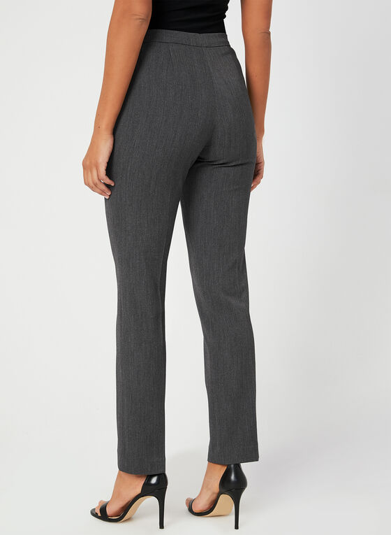 Signature Fit Straight Leg Pants , Grey