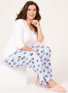 IB Diffusion - Ensemble pyjama à motif cupcake, Bleu, hi-res