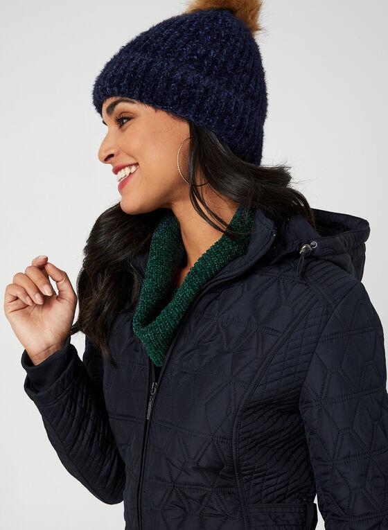 Weatherproof - Diamond Quilt Coat, Blue, hi-res
