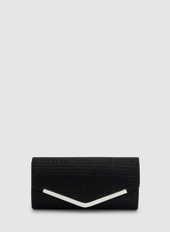 Envelope Clutch, Black