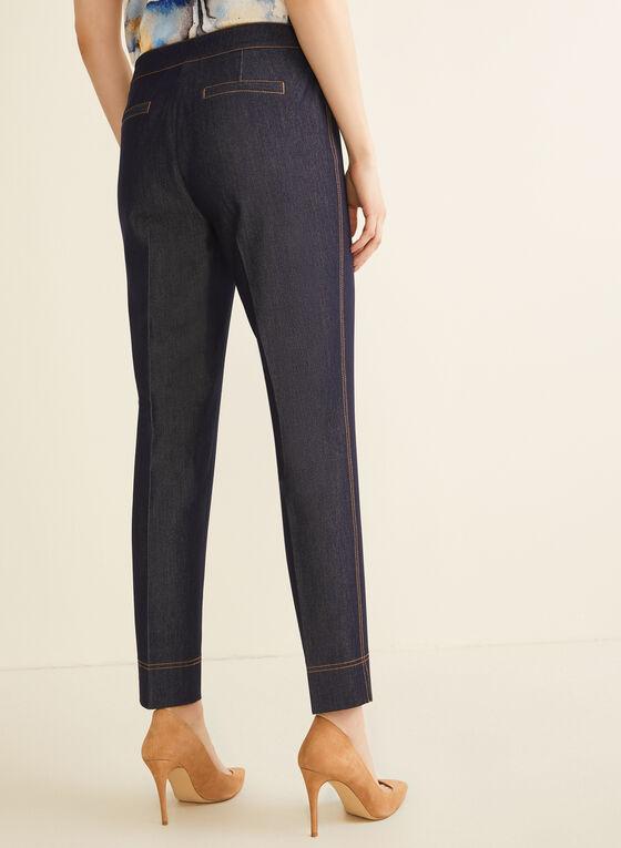 Modern Fit Straight Leg Pants, Blue