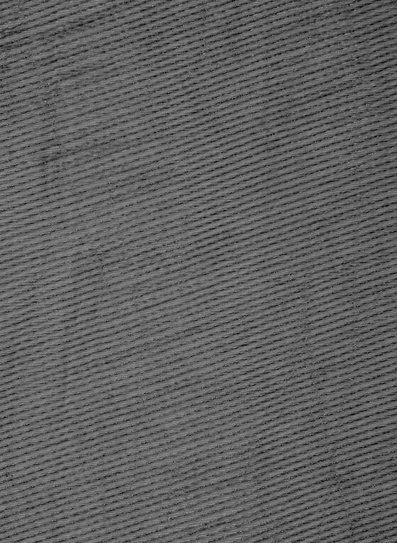 Pleated Glitter Scarf, Black