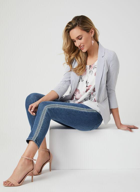 Modern Fit Slim Leg Jeans, Blue