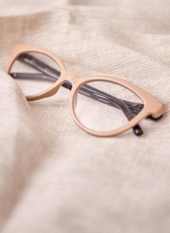 Lunette de lecture écaille de tortue, Brun,  lunettes, lecture, écailles tortue, plastique, oeil de chat, printemps été 2021