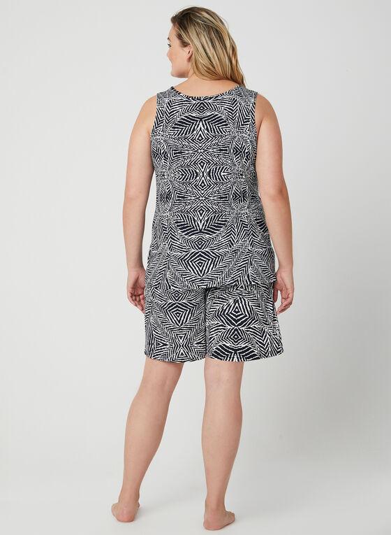 Hamilton – Cami Shorts Pyjama Set, Black