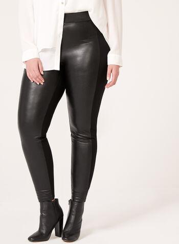Faux Leather Leggings, , hi-res