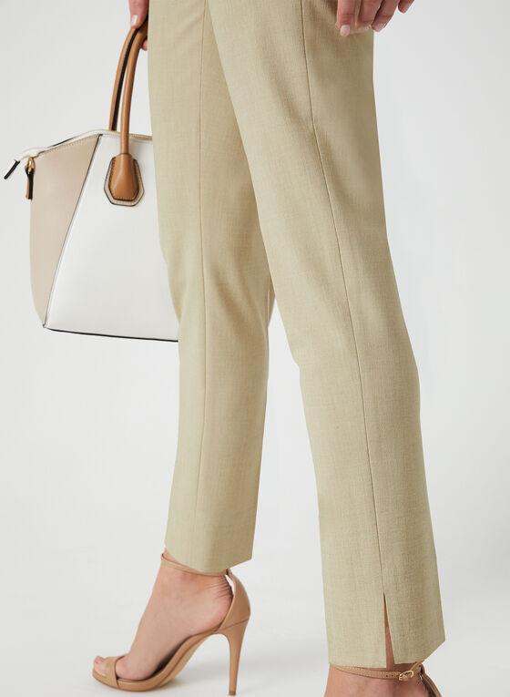 City Fit Slim Leg Pants, Off White, hi-res
