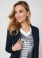 Mixed Print T-Shirt, Blue, hi-res