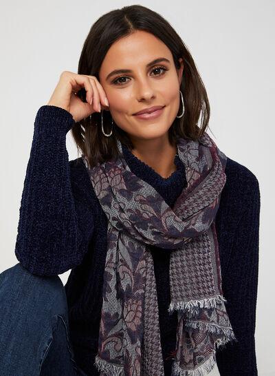 Pull en tricot chenille à col roulé