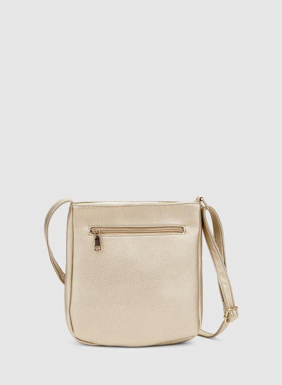 Crossbody Bag, Gold, hi-res