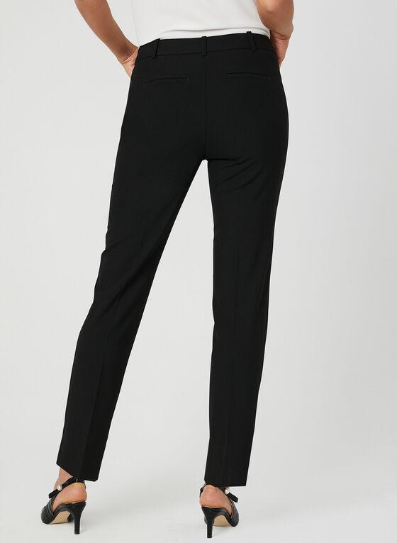 Pantalon coupe cité longueur cheville, Noir, hi-res