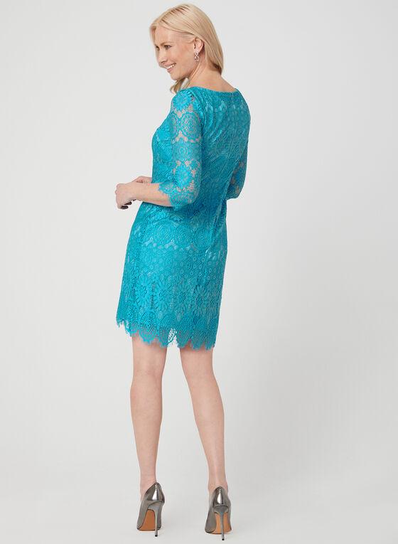 Jessica Howard - Lace Dress, Blue