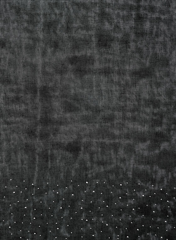 Pashmina Stones Scarf, Black