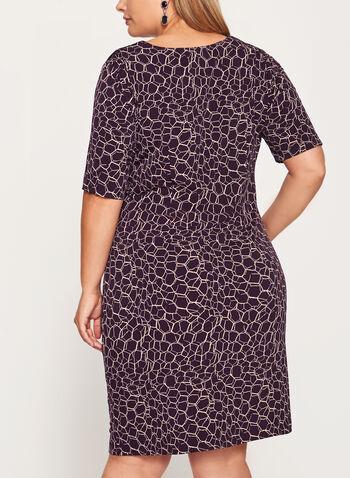 Side Tuck Jersey Dress, , hi-res