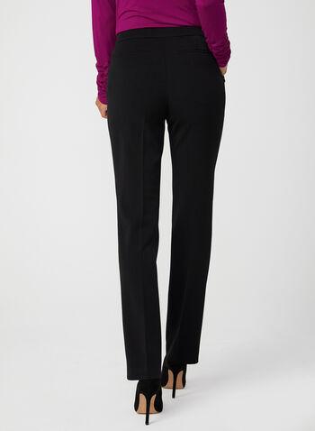 Signature Fit Straight Leg Pants, Black,