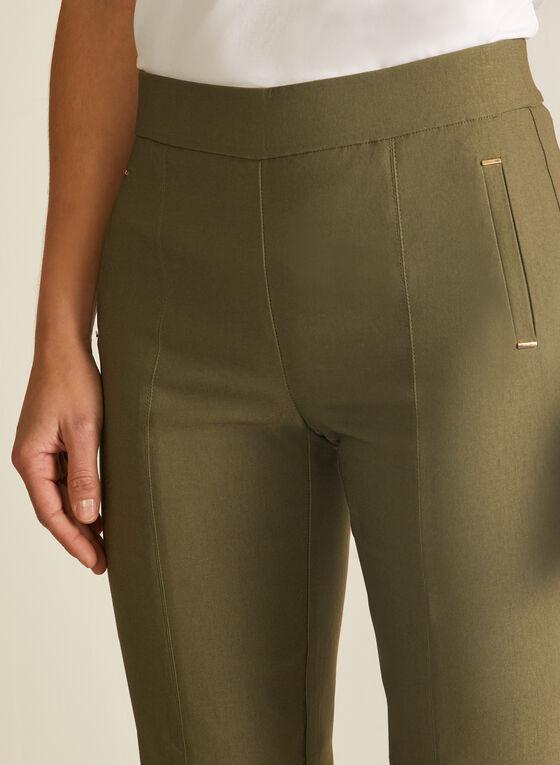 City Fit Slim Leg Pants, Green