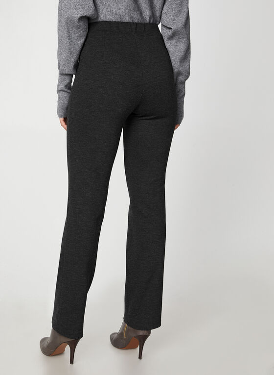 Ponte de Roma Straight Leg Pants, Grey