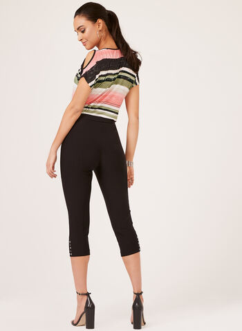 Modern Fit Capri, Black, hi-res