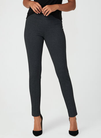 City Fit Slim Leg Pants, Grey, hi-res