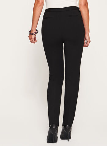 Signature Fit Slim Leg Ponte Pants, , hi-res
