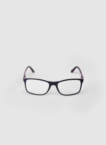 Rectangular Shape Eyeglasses, Purple,  canada, glasses, rectangle, fall 2019, winter 2019