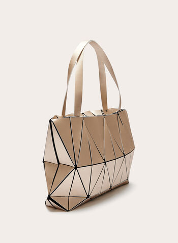 Geometric Print Tote Bag, Gold, hi-res