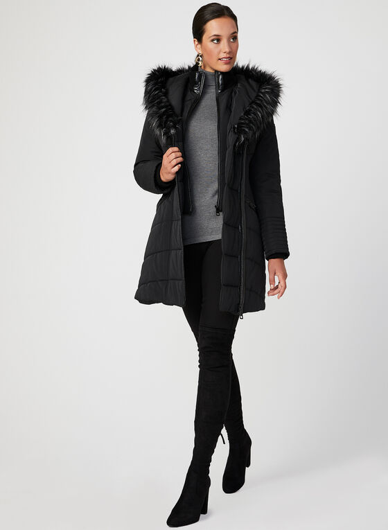Northside - Feather Loft® Quilted Coat, Black