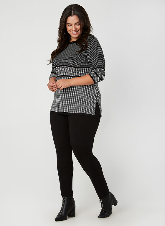 Boat Neck Sweater, Black