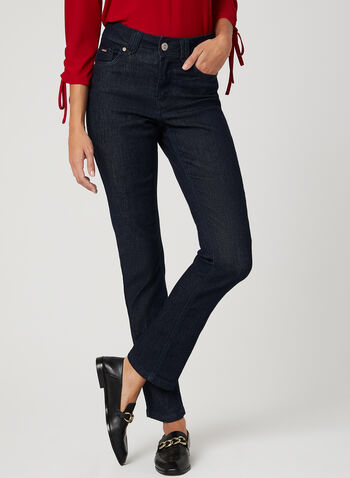 Carreli Jeans - Signature Fit Straight Leg Jeans, Blue, hi-res
