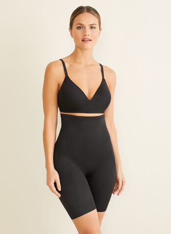 Naomi & Nicole - High-Waist Shaping Briefs, Black,  shapewear, briefs, high-waist, sculpting, back magic, wonderful edge
