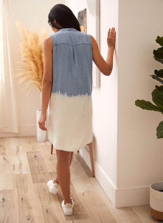 Charlie B - Two Tone Dress, Blue