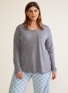 Microfleece Pyjama Set , Grey