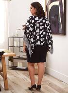 Joseph Ribkoff - Abstract Print Dress, Black