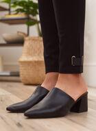 Tab Detail Leggings, Black