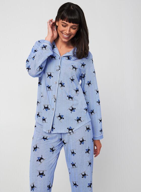 Midnight Maddie - Ensemble pyjama, Bleu, hi-res