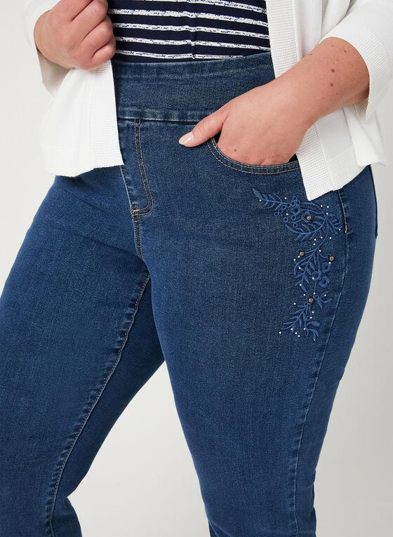 GG Jeans - Jean coupe moderne à jambe droite, Bleu, hi-res