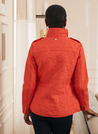 Novelti - Daisy Quilted Coat, Red