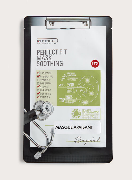 Repiel - Masque apaisant Perfect Fit en bio-cellulose, Multi, hi-res