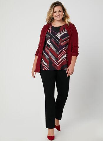 Sleeveless Crepe Blouse, Black, hi-res,  sleeveless, blouse, crepe, fall 2019, winter 2019