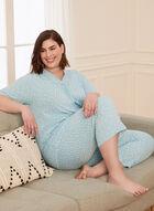 Ensemble pyjama motif étoiles  , Bleu