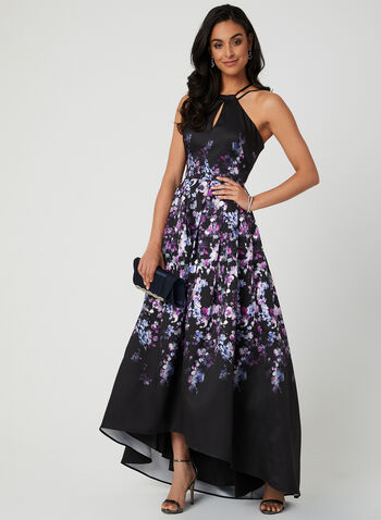 0a83f28bf2e Floral Print Gown